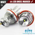 10W LED E-E39 ccfl angel eye projector headlights led angel eyes marker