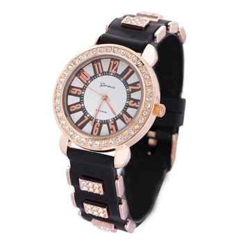 Silicone multiple color strap Non-toxic watch