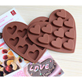 Show your Loving Heart Silicone Moulds for Candy Jelly Ice