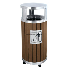 Открытый корзина для мусора/мусора Бен (DL88)