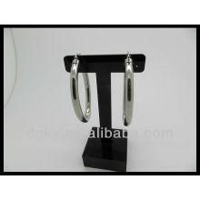 Оптовые серьги обруча баскетбола женской сетки
