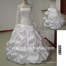 Späteste erstaunlich neue echte Ankunftsqualitätskristallsteine ball stylerystal verschönerte Hochzeitskleider JJ2607