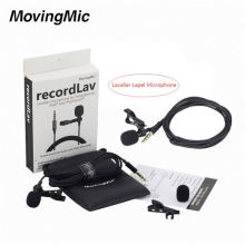 OEM Clip Lavalier Microphone for Smartphone Cell Phone