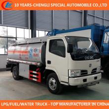 Caminhão de reabastecimento do combustível do caminhão de petroleiro 5cbm do caminhão 6wheels 2t 3t