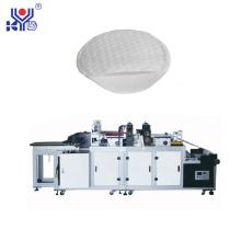 Máquina para fabricar almohadillas de algodón semirredondas cosméticas ultrasónicas