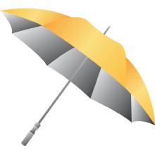 Manueller offener silberner Überzug Staight Umbrella (BD-56)