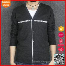 Nueva moda mangas largas erdos cashmere suéter mens cachemira cardigan