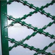 Alambre de púas de alta calidad de la navaja de afeitar del concertina del precio bajo galvanizado (precio de fábrica)