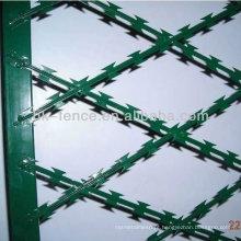 Alta Qualidade Galvanizado Preço Baixo Concertina Navalha De Arame Farpado (preço de fábrica)