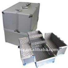 Caja de uñas de aluminio / Caja de la lámpara UV / Caja de la belleza
