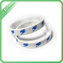 Hot Style Ink Filled Stylish Design Custom Made Silicon Bracelet
