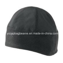 100% poliéster Micro Fleece Hat, Fleece Beanie