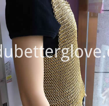 Dubetter copper-plating-chainmail-shirt