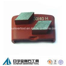 Piso de concreto suave americano pulido abrasivos pulido mármol segmento