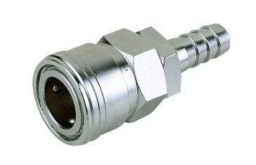 Mass Flow 15mm Quick Coupler Socket Barb
