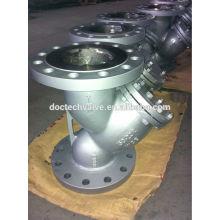 Cast Steel Flanged Y strainer 10K/20K