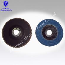 Disque de rabat de roue de rabat abrasif d'oxyde d'aluminium de prix usine
