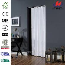 Overlap Design Steel Partition Interior Folding Sliding Door