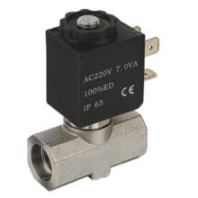 Válvula para máquinas de bebidas - 316body Sellado de silicio con conexión Bable (SB363)