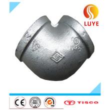 Coude en acier inoxydable de 90 degrés