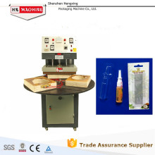 HX-50 Selladora y empaquetadora de plástico y papel para juguetes, estaciones, batería, alimentos, productos básicos, herramientas pequeñas