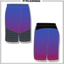 Personalizar Soft Beach poliester transpirable Hombres Shorts Gimnasio