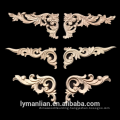 hand carved decorative wood furniture appliques and onlays wood carvings