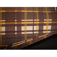 Tissu élastique en tissu poli avec tissu tricot Mesh