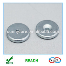 round N35 countersunk ndfeb magnets