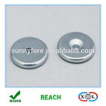 круглая N35 потайной неодимовый магнит