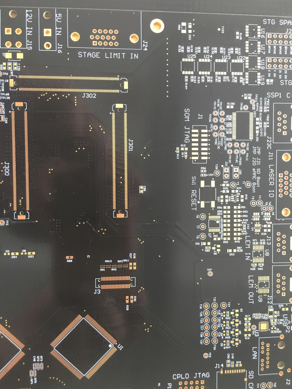 8 layer TG170 1.6mm ENIG PCB