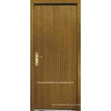 Puerta de talla plana