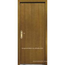 Flat carving door
