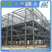 Plans préfabriqués de construction d'entrepôt certifiés en style américain