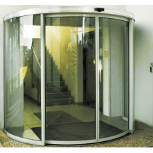 Auto curved sliding door