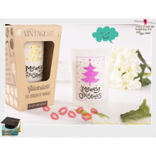 Vela de soja perfumada por atacado / Vela Natural artesanal natural
