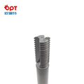 PCD thread milling machine cutter for plastic pipe