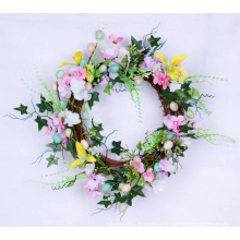 Attractive indoor easter decoration wreath
