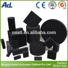 Honeycomb Activated Carbon Block for gas phase pollutants removal