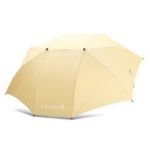 2018 nueva protección UV paraguas multi-color de golf doble canopy