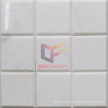 Volakas White Marble Stone Mosaic Tile (CFS1041)