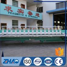 ZHAOSHAN 21 головок автоматическая компьютеризированная плоская машина вышивки