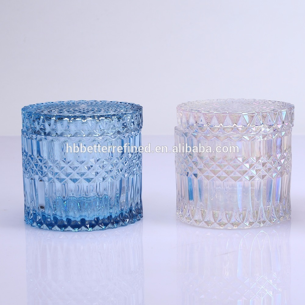 Br 1715 Decorative Glass Jar With Lid1