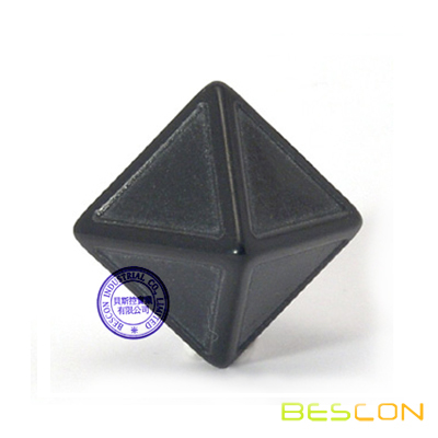 Custom colored 8 Sided Blank Indented Dice
