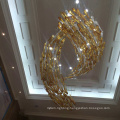 Fashion New Design Fish Clourful Glass pendant Lamp with Hotel