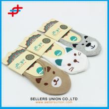 Китай Хлопок животных стиль Невидимые Дети носки лодыжки
