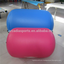 Most Popular Yoga Training Air Barrel Inflatable Air Roll For Gym