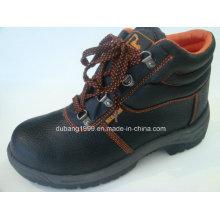 Calçados de segurança 2015 Cow Leatherworking Shoes Botas de trabalho Calçado