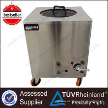 (Aprobación CE) Acero inoxidable Eco-Friendly Gas Tandoor horno