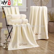 Venta caliente 70x140cm 100% toallas de baño de hotel de algodón